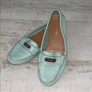 Mint Coach Loafers